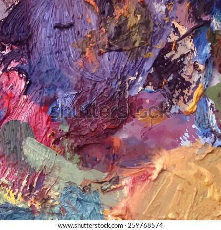 Abstract Background Palette Art Stock Vector Royalty Free