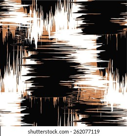 Abstract background pattern doodle seamless vector.