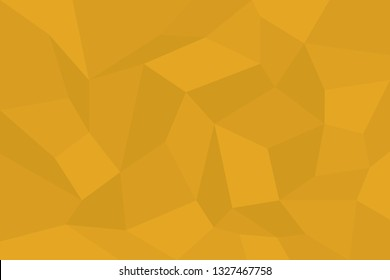Abstract background pattern made with trapezoids shapes in tones of yellow color. Modern, simple, futuristic geometric vector art.