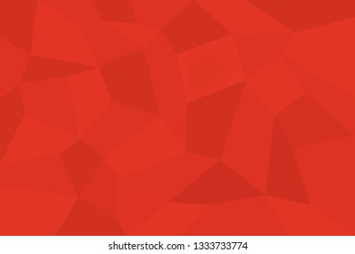 Abstract background pattern made with trapezoids shapes in tones of red color. Modern, simple, futuristic geometric vector art.