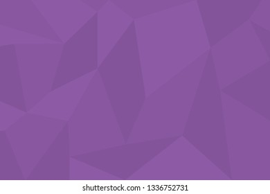 Abstract background pattern made with trapezoids shapes in tones of purple color. Modern, simple, futuristic geometric vector art.