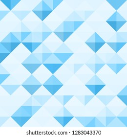 Abstract Background Pattern with triangle geometry. Vector illustration.