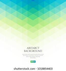 Abstract background with a pattern of triangles. Space for text.