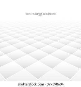 Abstract background with perspective. White soft texture. Vector illustration eps10.