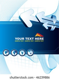 Abstract background with place for your text