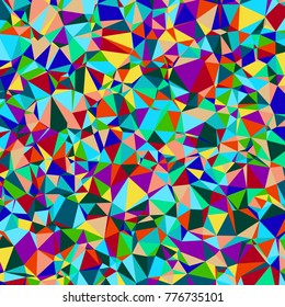 Abstract background of polygonal geometric shapes. Vector illustration