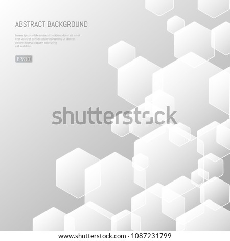Abstract Background Presentations On Business Science Stock