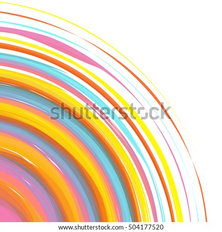 abstract background rainbow poster banner design stock vector