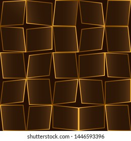 Abstract background with rectangles. Noise structure with quadrangles. Vector image