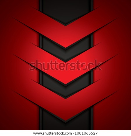 abstract-background-red-arrows-brochure-