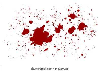 Abstract background with red blood splatters. Vector illustration eps 10.