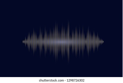 Abstract background to represent the sound
