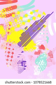 Abstract background, retro design