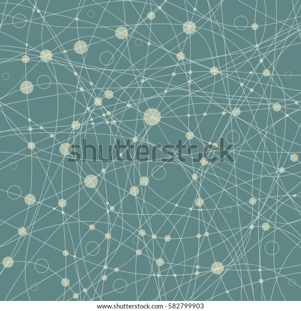 Abstract background with rings and line. The file is saved in the version AI10 EPS.