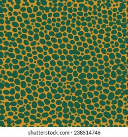Abstract background seamless point dot reptile alligator skin design