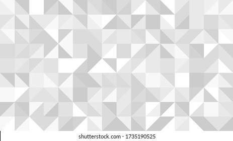 Abstract background silver mosaic. Background foil metallic texture. Festive vector illustration. Mirror mosaic vector illustration. Banner element. Party backdrop. Christmas banner. Disco decoration