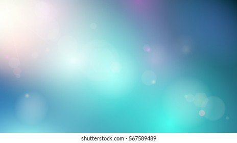 Abstract background of sky. Vector illustration