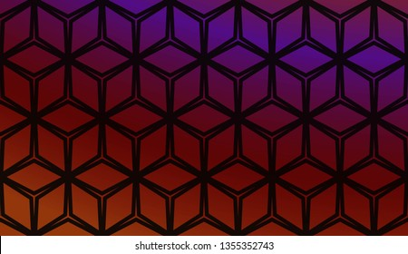 Abstract Background With Smooth Gradient Color. For Brochure, Banner, Wallpaper, Mobile Screen. Vector Illustration.