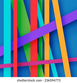 abstract background with stripes of different colors