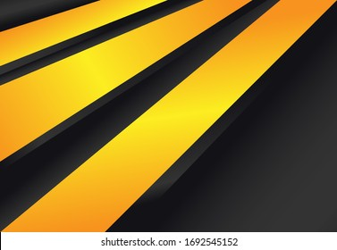 Abstract background with style minimalist and elegan, dominant color black and gold. Can be used in wallpaper, banner, backdrop, poster, cover and more