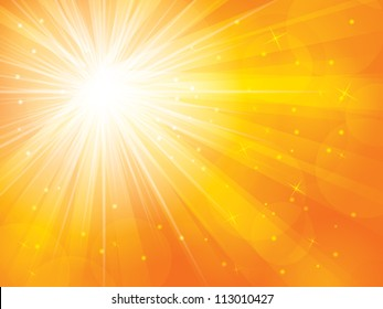 abstract background in sunny vector illustration