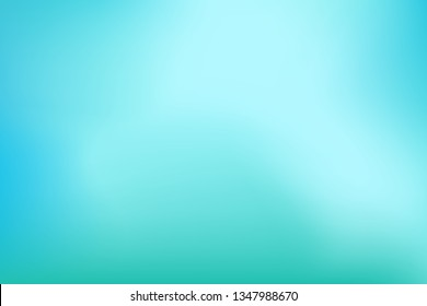 Abstract background. Teal, blue, mint, aqua, turquoise, water background for your graphic design, banner, poster. Space for text. Vector illustration.