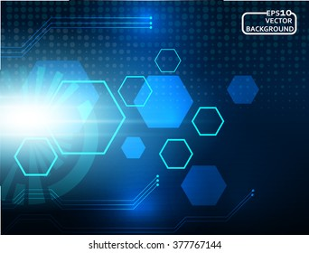abstract background technology concept in vector illustration