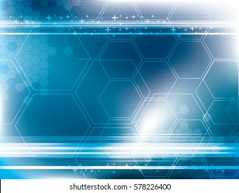 Abstract background technology in vector illustration for futuristic corporate business