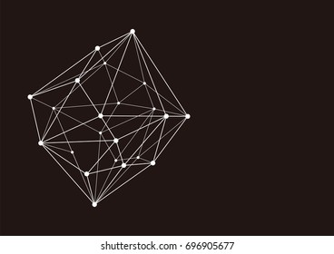 Abstract background of technology. It is a vector illustration.