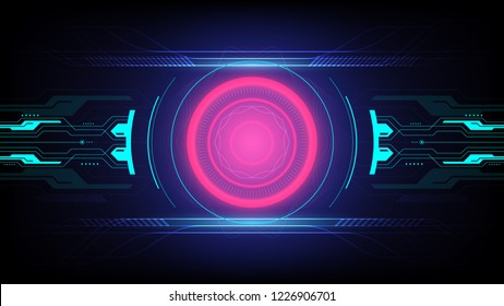 abstract background technology, visualization electric energy vector