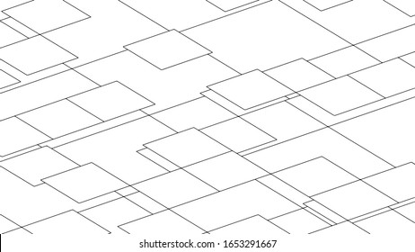 Abstract background, texture design with squares, modern pattern, vector illustration