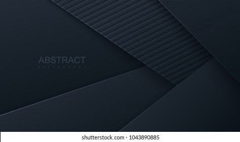 Abstract background textured with paper layers. Vector illustration. Business design concept. Decorative web layout. Poster, banner, corporate brochure template.