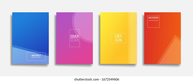 abstract background with thin line pattern. modern gradient background. blue yellow purple red color backdrop for poster banner cover. minimal stripe texture