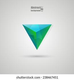 Abstract  background with triangles. Eps10 Vector illustration