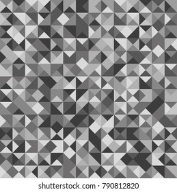 Abstract background from triangles. Vector illustration