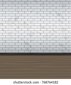 Abstract background used for empty spacious room interior. background or wallpaper. Vector illustration.