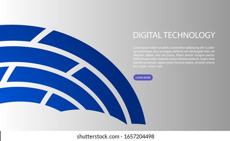 Abstract background, User interface for Big data flow processing concept, cloud database, isometric vector, web hosting and server room icons. business and technology concept in database system
