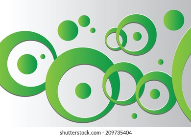 Abstract background with vector design elements