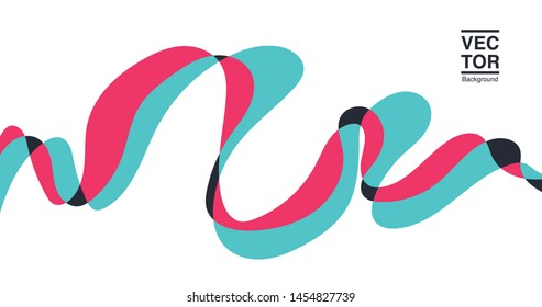 Abstract background, vector illustration design. 4k resolution.