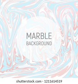 Abstract background, vector marble texture imitation. Marbleized pattern vector. Wedding invitation template with liquid suminagashi ebru ink background. Pastel marbling texture effect.