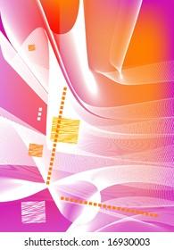 abstract background, vector, mesh gradient