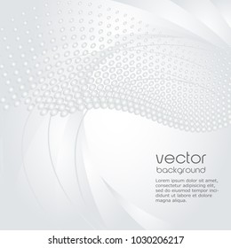 Abstract background vector, with space for text