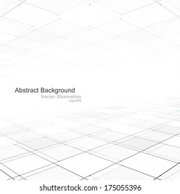 Abstract background of vision perspective. Vector illustration.