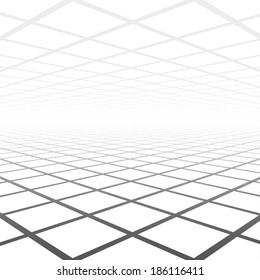 Abstract background of vision perspective, vector illustration.
