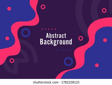 abstract background wavy design, liquid shape advertising banner