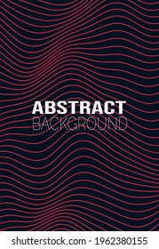 Abstract background of wavy lines