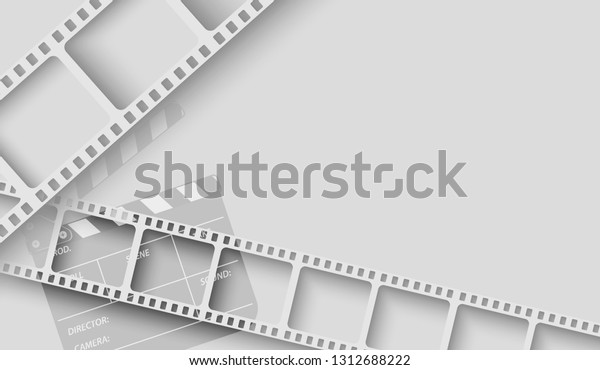 abstract background white film strip frame stock vector royalty free 1312688222 shutterstock