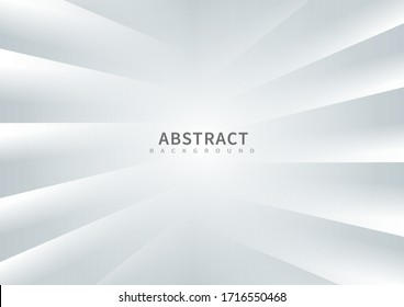 Abstract background white stripes lines diagonal.  You can use for ad, poster, template, business presentation. Vector illustration