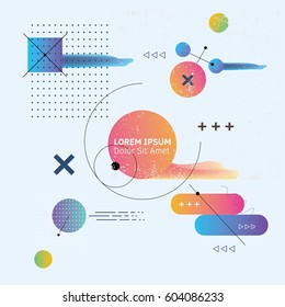 Abstract background for your design. Vector Illustration.