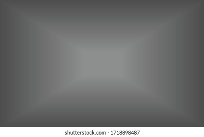 abstract background,gray background and the gradation of the white glow in the middle